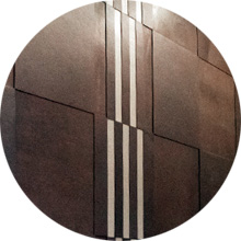 Detail of Leather Wall Tile