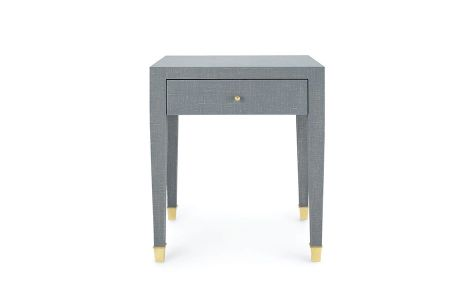 Claudette 1 Drawer Side Table