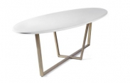 Formal Ellipse Dining Table