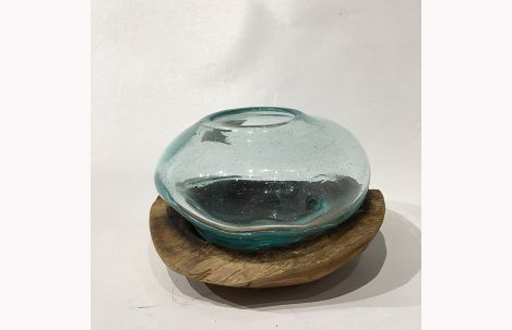 Glass Bubble In Bowl