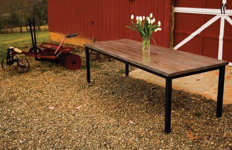 Harvest Steel Dining Table