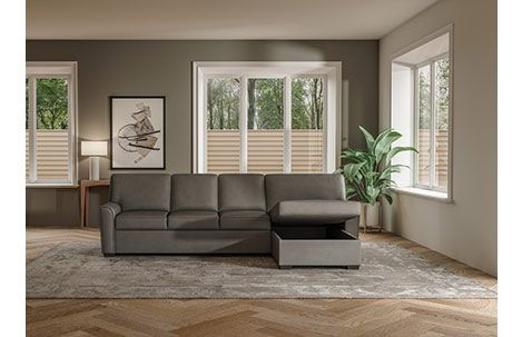 Klein Comfort Sleeper Sectional