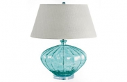 Recycled Fluted Glass Lamp