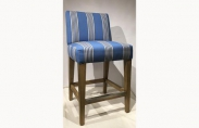 Striped Counter Stool
