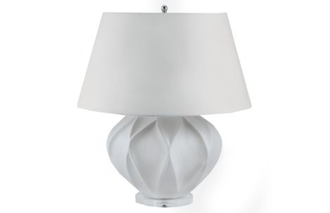 Bisque Ceramic Lamp