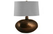 Distressed Solid Brass Lamp