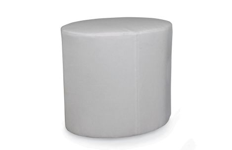 Outdoor Drum Oval Ottoman